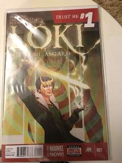 Marvel Loki Agent of Asgard #1