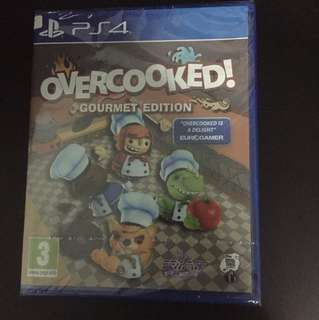 PS4 Overcooked! Gourmet Edition (New)