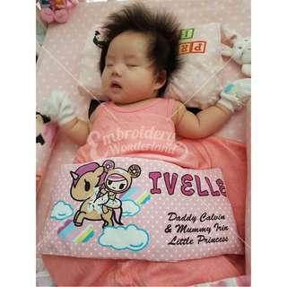 Customize Baby Beansprout Husk pillow