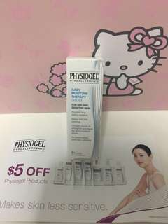 PHYSIOGEL Daily moisture therapy cream & $5 Voucher