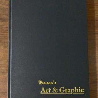 WENSON Art & Graphic Sketch Book