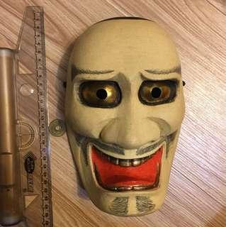 🚚 日本木製面具 黑鬚
