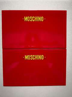 Moschino red packet