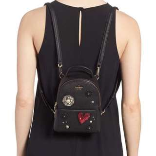 Kate Spade Jackson street merry mini backpack (finer things in life)