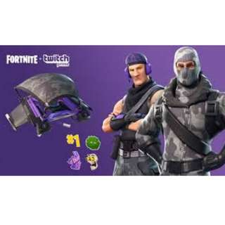 Twitch Prime Fortnite Loots