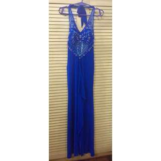 Blue Long Gown