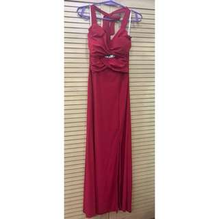 Red Long Gown