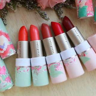 [INSTOCKS] Cute Press 'The Little Mermaid' Marine Magic Collagen Lipstick Set