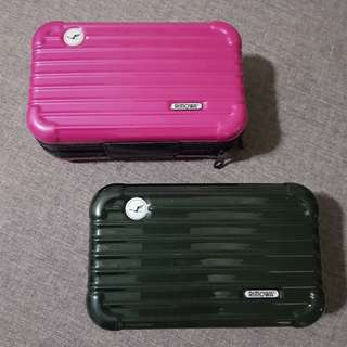 Rimowa inspired mini luggage
