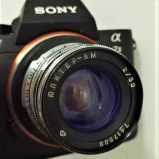 JUPITER 8M adapted to Sony NEX