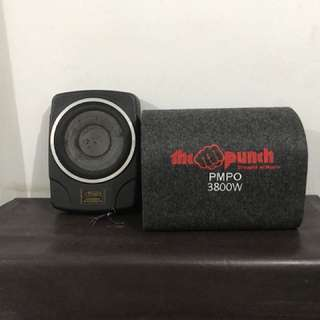 Rodek dan The Punch Tune Up Subwoofer System Car Amplifier #123moveon