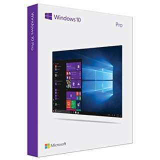 全新 彩盒裝 Windows 10 pro 64bit 香港繁體/英文版  USB 安裝 win10