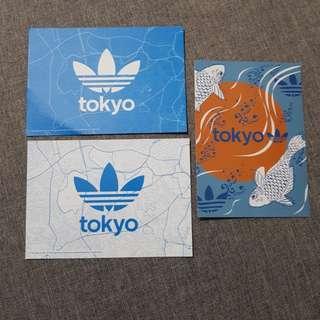 Adidas postcards