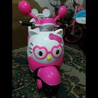 Hello Kitty Motorbike ( Rechargeable )