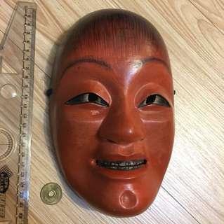 🚚 日本 木製面具 猩