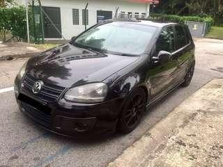 Volkswagen golf mk5 gt sport 1.4tsi