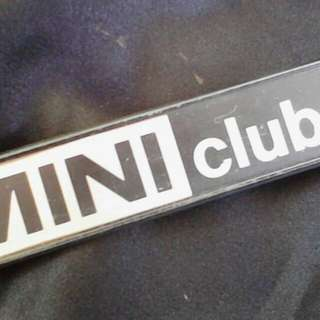 Classic Mini Clubman ori badge