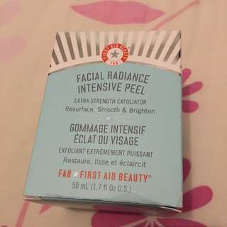 FAB Facial Radiance Intensive Peel