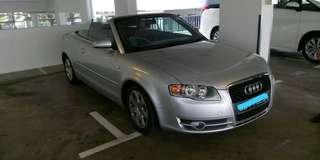 Audi a4 b7 1.8tfsi  Convertible type