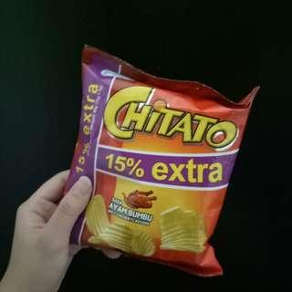 Chitato potato snack