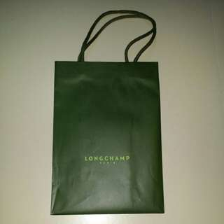 Paper Bag by Longchamp