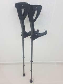 FDI ErgoTech Forearm crutches