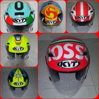 0803--- KYT Helmet CONVERT TO ARAI 🦀 For SALE, Yamaha Jupiter, Spark, Sniper,, Honda, SUZUKI
