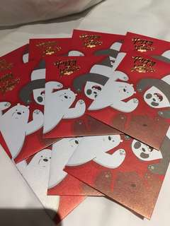 We Bare Bears Angpow (10pcs)