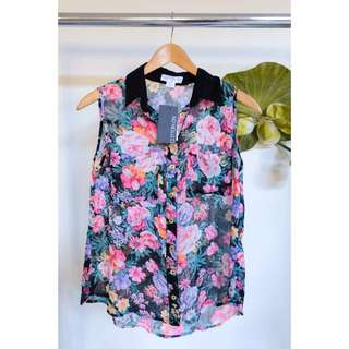 Cotton On Floral Blouse