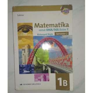 Buku Pelajaran Matematika Sukino SMA 1B