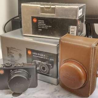 Leica D-LUX4 數位相機品項佳,快門數低於500。