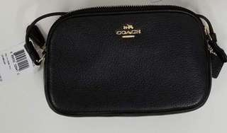 Coach black crossbody bag平售