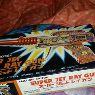 60/70 年代日本制火石槍。功能全正常。只限郵寄。包郵