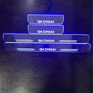 Nissan Qashqai LED scuff plate 2014-2018