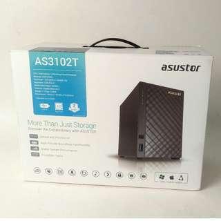 Asustor AS3102T 2-Bay NAS (HDMI 直出電視, 播片, 網絡儲存, 備份) 行貨保養
