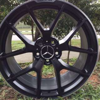 19in PCD 5-112 AMG SLS Rims On Sale