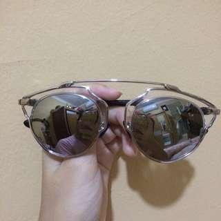 dior so real sung glasses kacamata hitam abu abu black grey