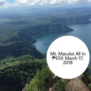 Mt. Maculot March 17
