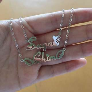Design Your Name Necklace