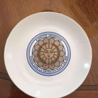 Argentina porcelain plate
