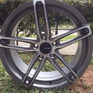 18in PCD 5-114.3 Flow Forming Forged Rims On Sale