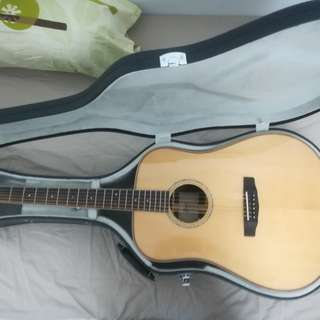 Cort AS E5 (All Solid) Acoustic-Electric Guitar (LIKE NEW)