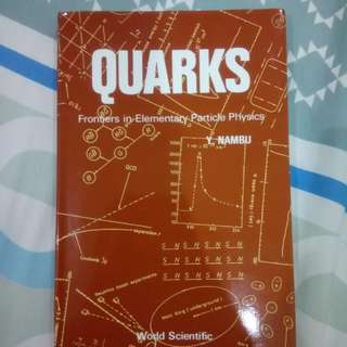 Quarks: Frontiers in Elementary Particle Physics by Y. Nambu
