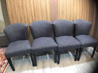 Dining Chairs (4 pax)