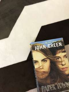 'paper towns' book