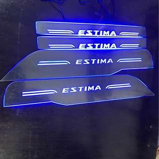 Toyota Estima / Previa LED Scuff Plate