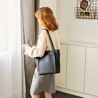 Leather Tote / Sling Bag