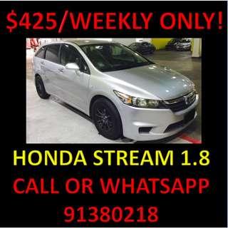 Long Term Rental Honda Stream