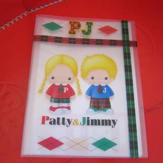 Sanrio Patty&Jimmy 透明袋FILE 1998年