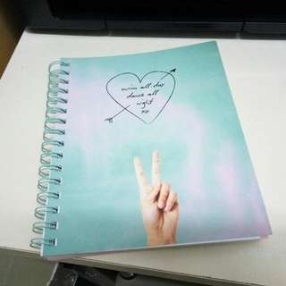 Typo Thick Binded Notebook